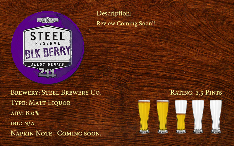 Steel Reserve Blackberry